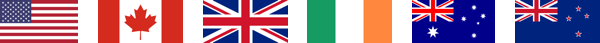 A banner of flags