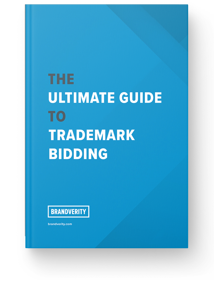 Cover of the eBook: The Ultimate Guide to Trademark Bidding
