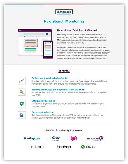 Paid Search Product Overview